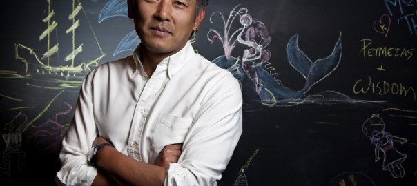 Joon Lee, proprietor of The Blue Whale.